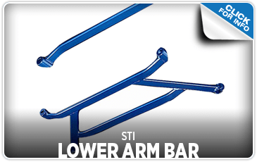 Browse our STI Lower Arm Bar information serving Sacramento, CA