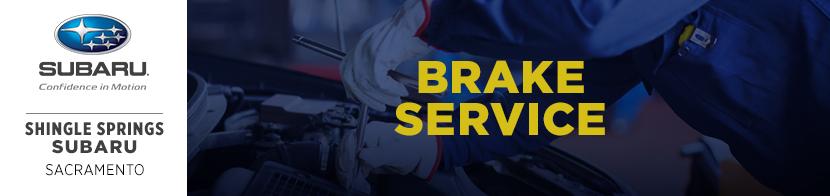 Shingle Springs Subaru Brake Repair Details & Service near Sacramento, CA