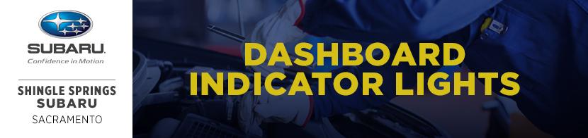 Subaru Dashboard Indicator Light Service Information