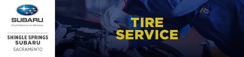 Learn more about Subaru tire service with this informational page provided by Shingle Springs Subaru serving Sacramento, CA