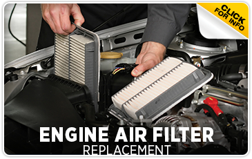 Click to view our Subaru engine air filter service serving Sacramento, CA