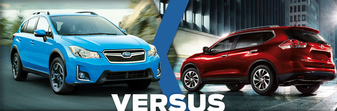 Crosstrek Vs Rogue Subaru Amp Nissan Comparison Shingle