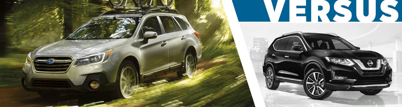 Shingle Springs Nissan >> 2018 Subaru Outback Vs 2018 Nissan Rogue Suv Comparison