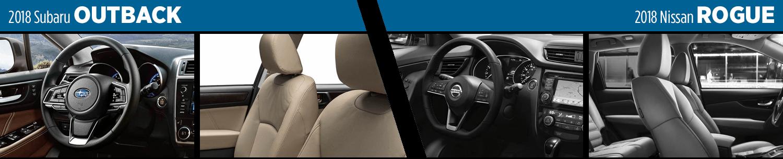 2018 Subaru Outback Vs 2018 Nissan Rogue Suv Comparison
