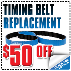 Click to View Our Subaru Timing Belt Service Special Serving Placerville, CA