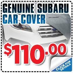 Click to view our Subaru car cover parts special serving Sacramento, CA