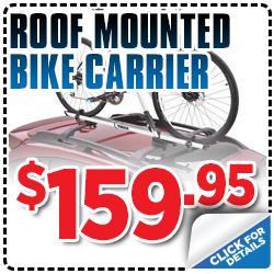 Click to view our Subaru roof mounted bike carrier parts special serving Sacramento, CA