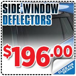 Click to view our Subaru side window deflector parts special serving Sacramento, CA
