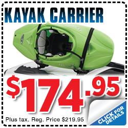 Click to view our Subaru Kayak Carrier parts special serving Sacramento, CA