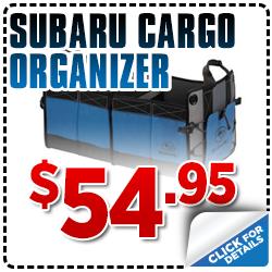 Click to save with our Subaru cargo organizer parts special serving Sacramento, CA