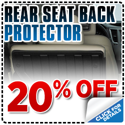 Click to save with our Subaru rear seat back protector parts special serving Sacramento, CA