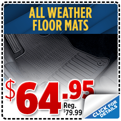 Click to save with our all weather floor mat parts special at Shingle Springs Subaru serving Sacramento, CA