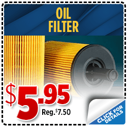 Click to save with our oil filter parts special at Shingle Springs Subaru serving Sacramento, CA