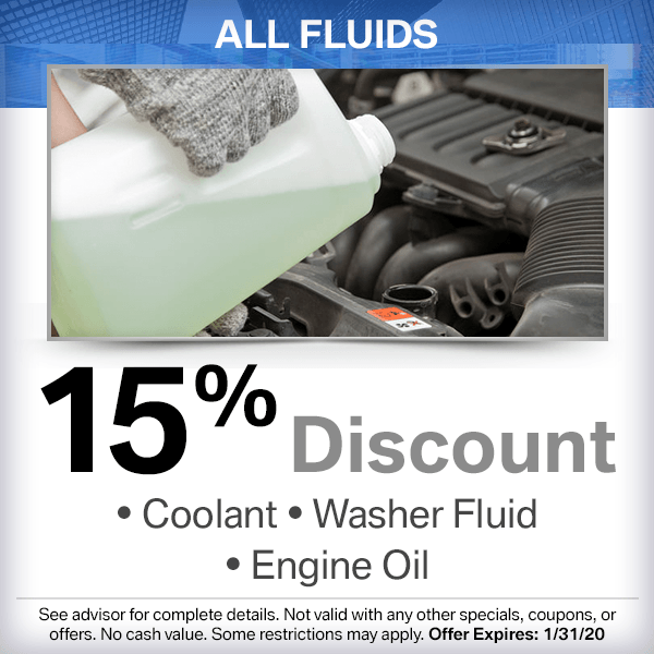 All Fluids 15% Discount at South Bay BMW