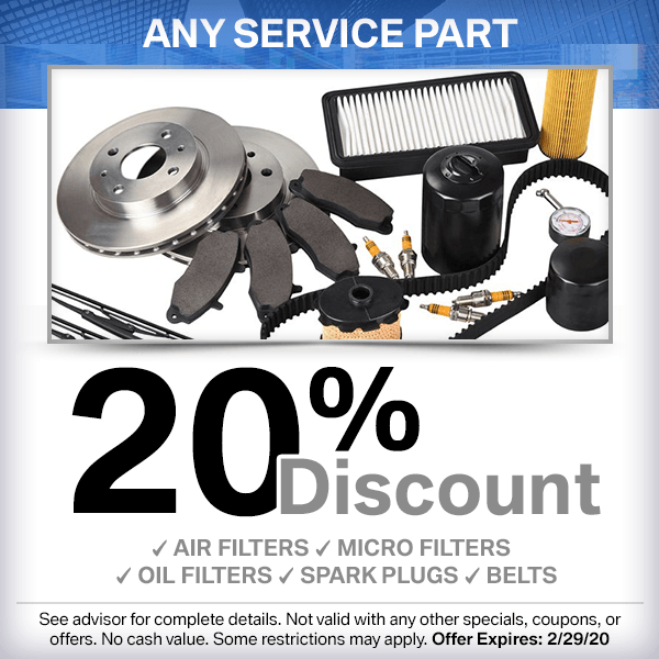 Save on a genuine BMW service parts from our parts department at our Torrance, CA location.