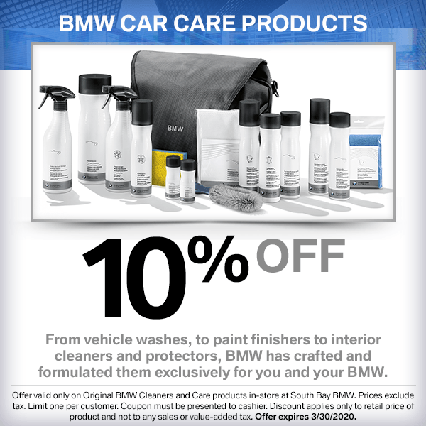 10% OFF BMW CAR CARE PRODUCTS in Torrance, CA