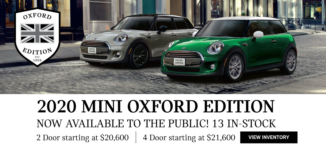 2020 MINI Cooper Oxford Edition in Torrance, CA