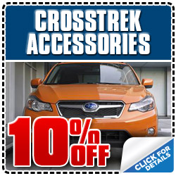 Subaru of Glendale XV Crosstrek Accessories Discount Coupon serving Los Angeles, California