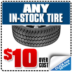 Subaru of Glendale Tire Sale Discount Coupon serving Los Angeles, California