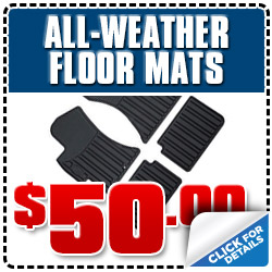 Los Angeles All-Weather Floor Mats Subaru Parts Discount Coupon Special