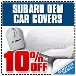 Glendale Subaru OEM Car Cover Parts Special serving Los Angeles, California