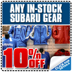 Subaru of Glendale Gear & Apparel Discount Coupon serving Los Angeles, California