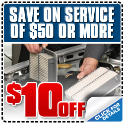 Subaru Save on Service Special Discount Coupon serving Los Angeles, California