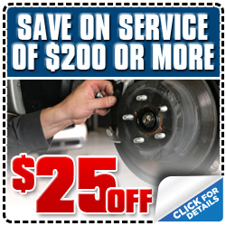 Get $25 Off Subaru Service Special Discount  Coupon serving Los Angeles, California
