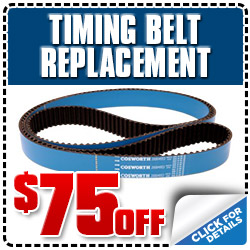 Subaru Timing Belt Replacement Service Discount Coupon, Los Angeles, Pasadena, Santa Monica, San Fernando