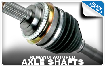 View More Details on Remanufactured Subaru Axle Shafts Performance Quality!