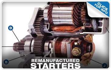 View More Details on Remanufactured Subaru Starter Performance Quality!