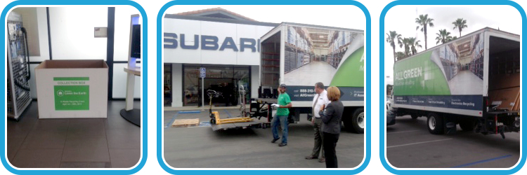E-Waste Recycling Program at Subaru of San Berardino