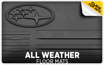 Learn more about Genuine Subaru parts and accessories - keep the interior of your Subaru cleaner with all-weather floor mats - Get them at Subaru of San Bernardino serving Riverside, CA