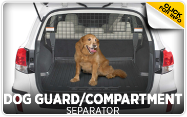 Click to learn more about genuine Subaru dog guards and compartment separators available at Subaru of San Bernardino, CA