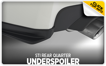 Research the STI rear quarter underspoiler at Subaru of San Bernardino