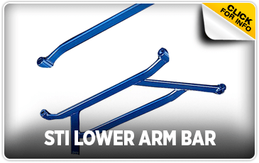 Click to view STI Lower Arm Bar information at Subaru of San Bernardino