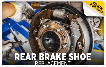 Click to research our rear brake shoe replacement service information at Subaru of San Bernardino