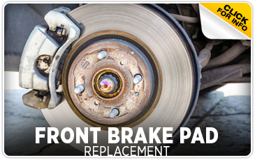 Click to learn more about Subaru front brake Pad replacement service in San Bernardino, CA