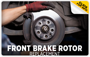 Click to learn more about Subaru front brake rotor replacement service in San Bernardino, CA