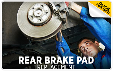 Click to learn more about Subaru rear brake Pad replacement service in San Bernardino, CA