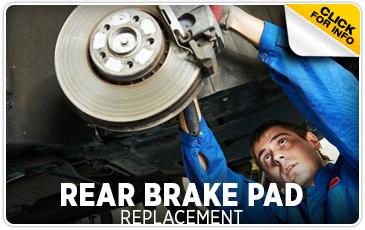 Click to learn more about Subaru rear brake Pad replacement service in San Bernardino, CA