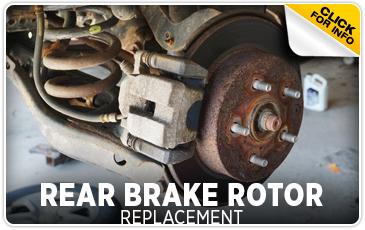 Click to learn more about Subaru rear brake rotor replacement service in San Bernardino, CA