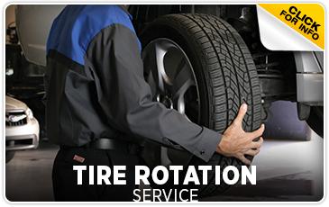 Tire Rotation Service Information at Subaru of San Bernardino Serving Riverside and Rancho Cucamonga, CA