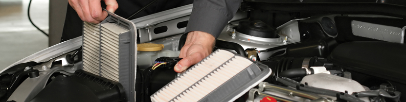 Subaru engine air filter service in San Bernardino, CA