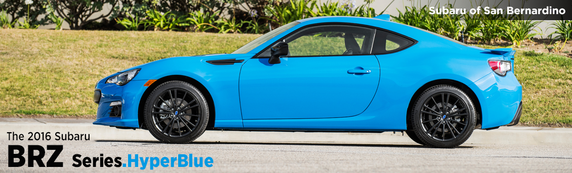 Pre-Owned 2016 Subaru BRZ Series.HyperBlue New Model Information