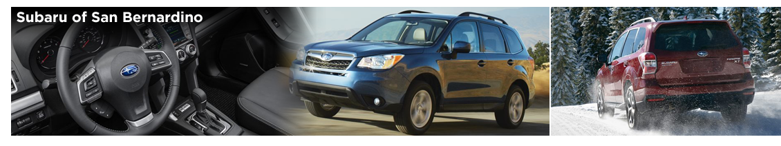 Pre-Owned 2016 Subaru Forester Model Information
