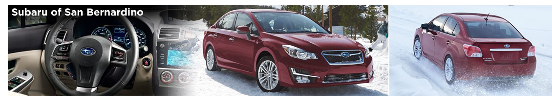 Pre-Owned 2016 Subaru Impreza Model Details in San Bernardino, CA