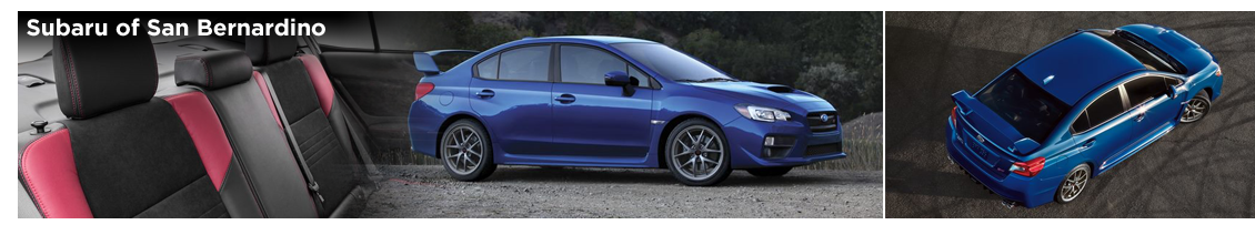 Pre-Owned 2016 Subaru WRX STI Model Details in San Bernardino, CA