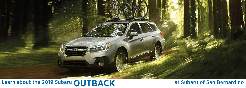 2019 Subaru Outback Suv Features Information For San Bernardino