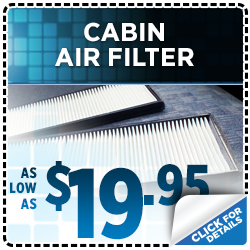 Save on genuine Subaru cabin air filters in San Bernardino, CA - click to learn more